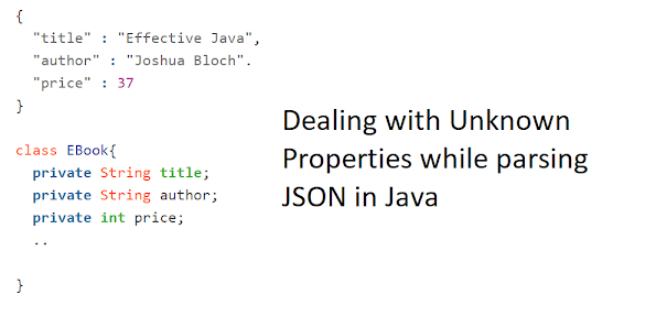 How to ignore unknown properties while parsing JSON in Java