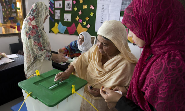 Polling Underway Across the Country Amid Tight Security   Elections 2018 Pakistan