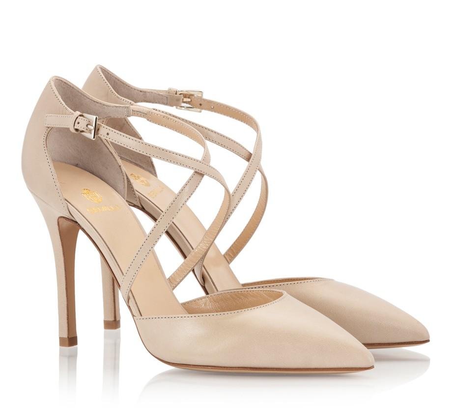 Neutral Coast Bridal Shoes Beige 2017 | Wedding Trend