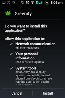 Membersihkan File Sampah Android