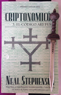 Portada del libro Criptonomicón 3: el código Aretusa, de Neal Stephenson