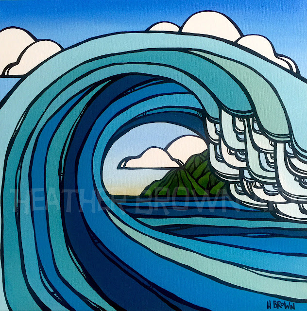 heather brown gallery of surfing art