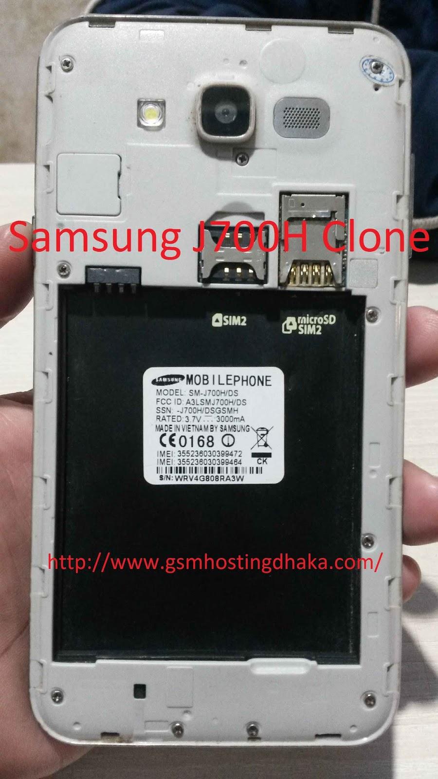 Samsung J7 (Sm-J700H) Clone Flash File| Free Download 100