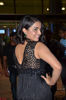 Wamiqa Gabbi in a sleeveless Black Designer Transparent Gown at 64th Jio Filmfare Awards South ~  Exclusive 059.JPG