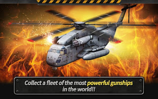 GUNSHIP BATTLE Helicopter 3D MOD APKUnlimited Money