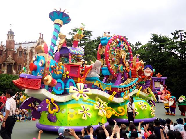 Happiness is Here parade float, Tokyo Disneyland, Japan
