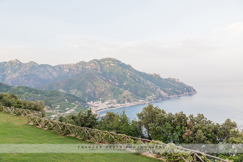 View of Ravello mountain