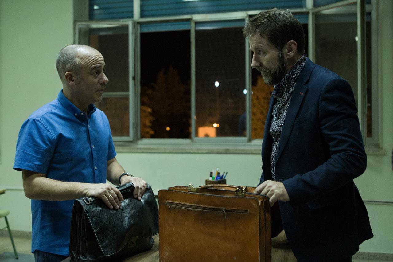 EL AUTOR - pelicula - Javier Gutiérrez y Antonio de la Torre