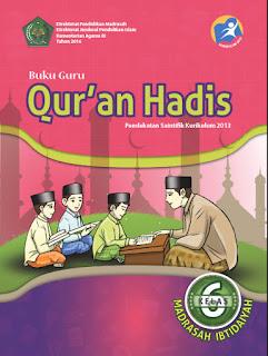 Buku Guru Kelas 6-VI (Qur'an Hadis) Kurikulum 2013 Revisi