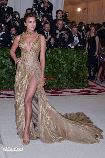 Deepika Padukone looks stunning with Irina Shayk at 2018 MET Costume Insute Gala ~ Exclusive