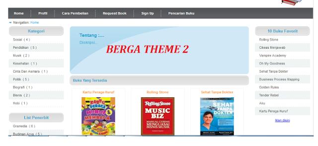 Download Script Toko Online Versi 3.0 dari Berga Gratis siap pakai