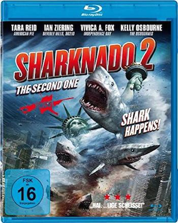 Sharknado 2 The Second One 2014 UNRATED Dual Audio BluRay Download