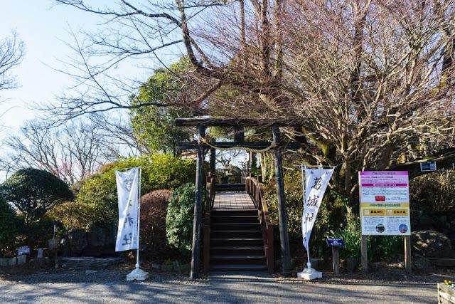 葛城神社~伊豆の国パノラマパーク(葛城山)