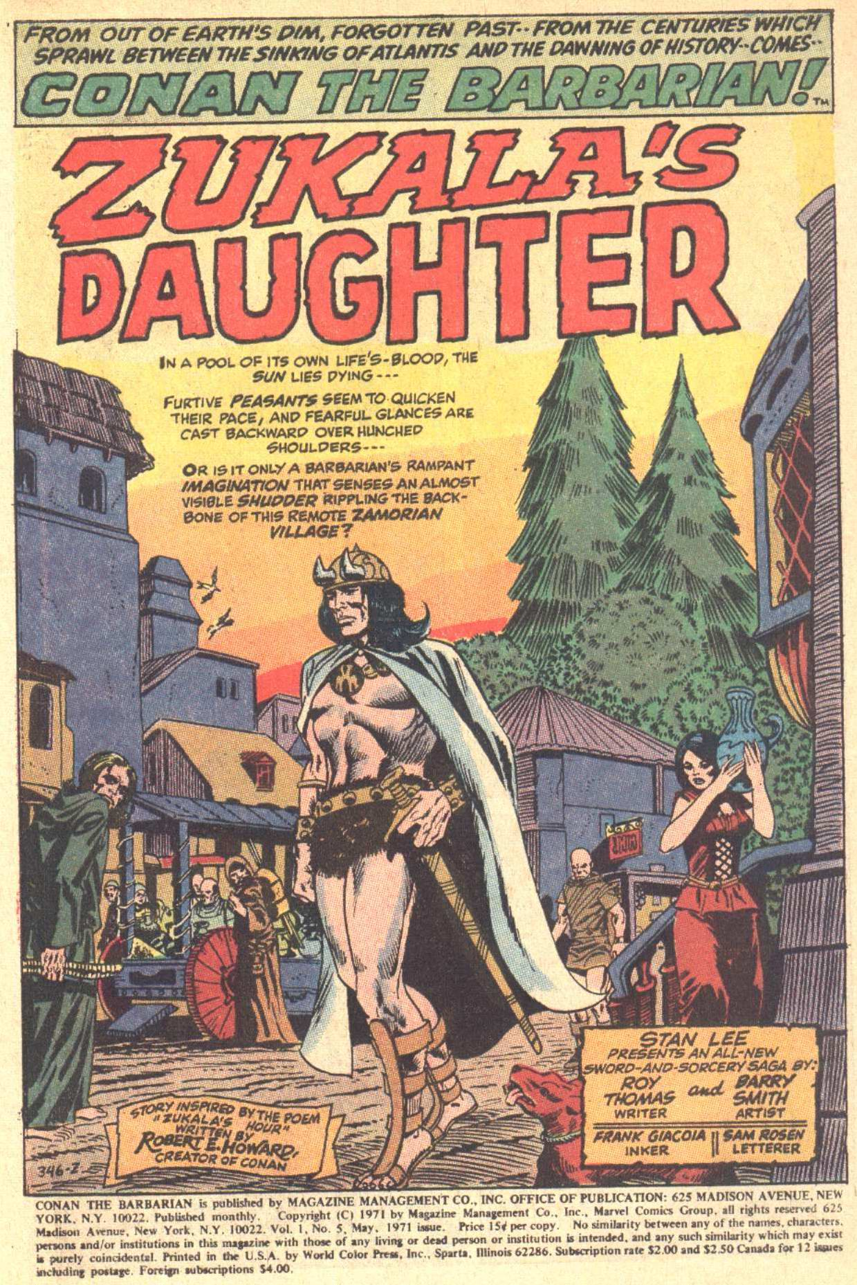 Conan the Barbarian (1970) Issue #5 #17 - English 2