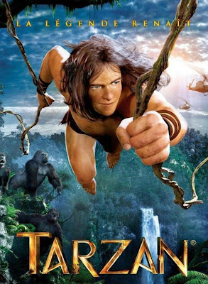Poster Of Tarzan (2013) Full Movie Hindi Dubbed Free Download Watch Online At worldfree4u.com