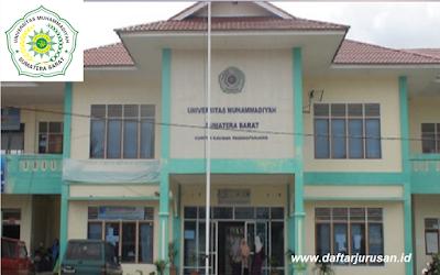 Daftar Fakultas dan Program Studi UMSB Universitas Muhammadiyah Sumatera Barat