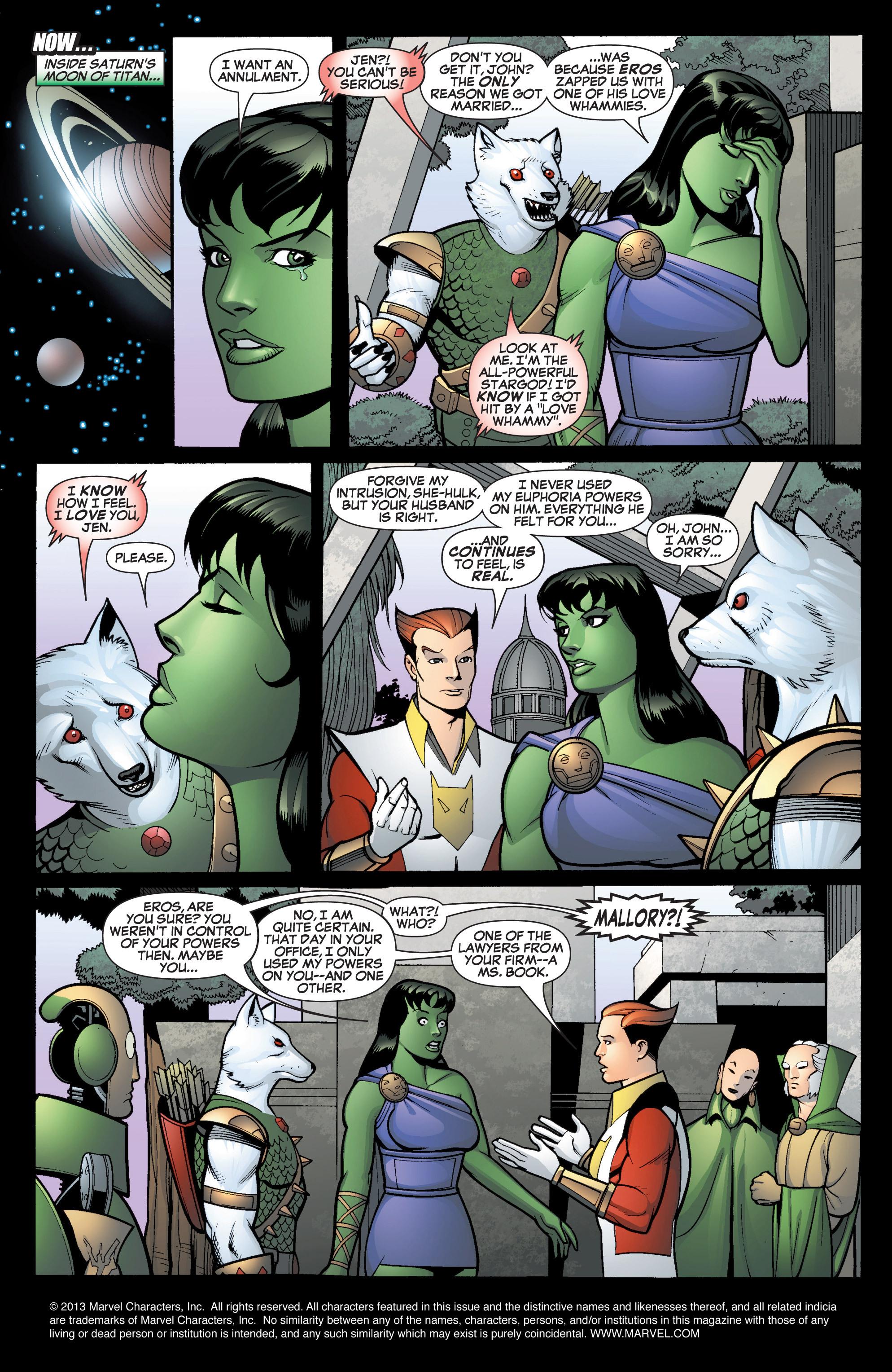 Read online She-Hulk (2005) comic -  Issue #14 - 2