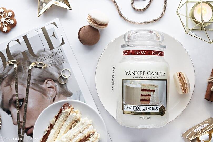 yankee candle sugar frost christmas święta 2018