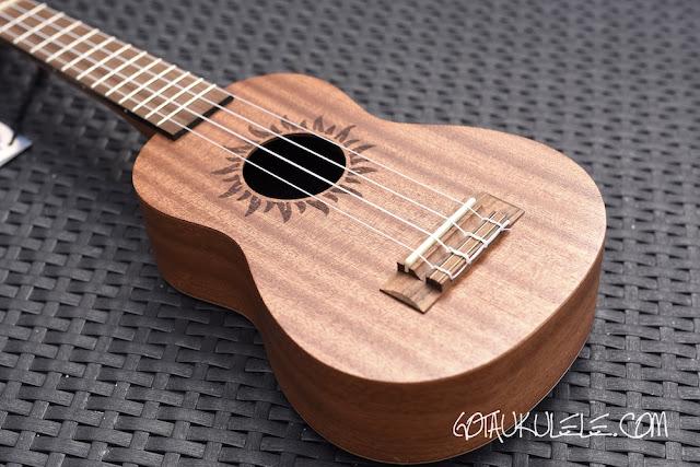 baton rouge v2-sw sun soprano ukulele body