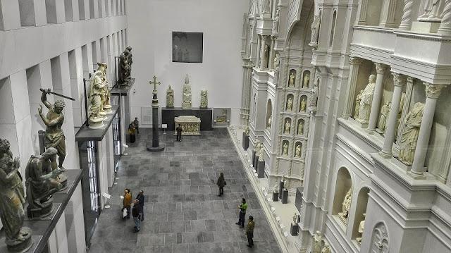 Interior do Museu dell'Opera del Duomo em Siena
