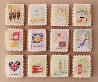 Galletas decoradas sellos