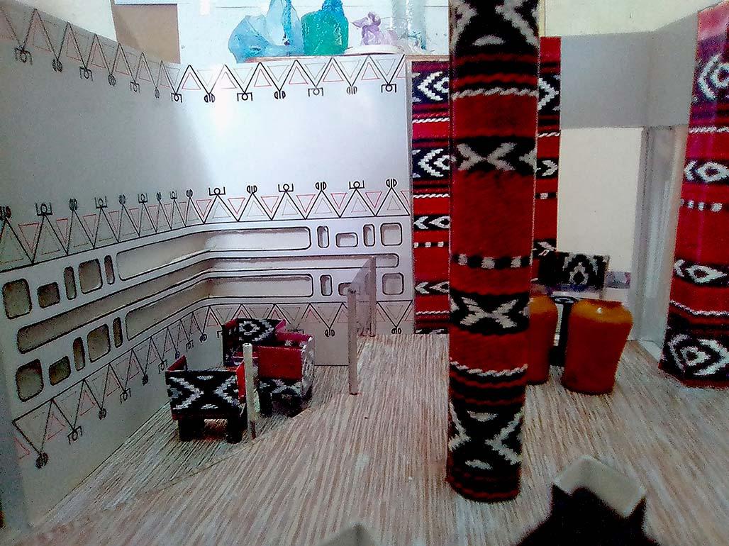 Le sel de la terre destins nouveaux l ouest for Decoration murale kabyle