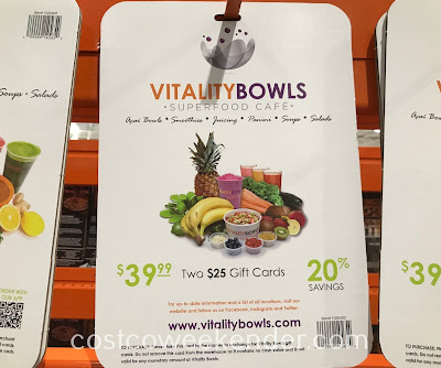 Grab a quick bite to eat at Vitality Bowls