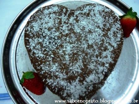 Bolo Gênoves de Chocolate