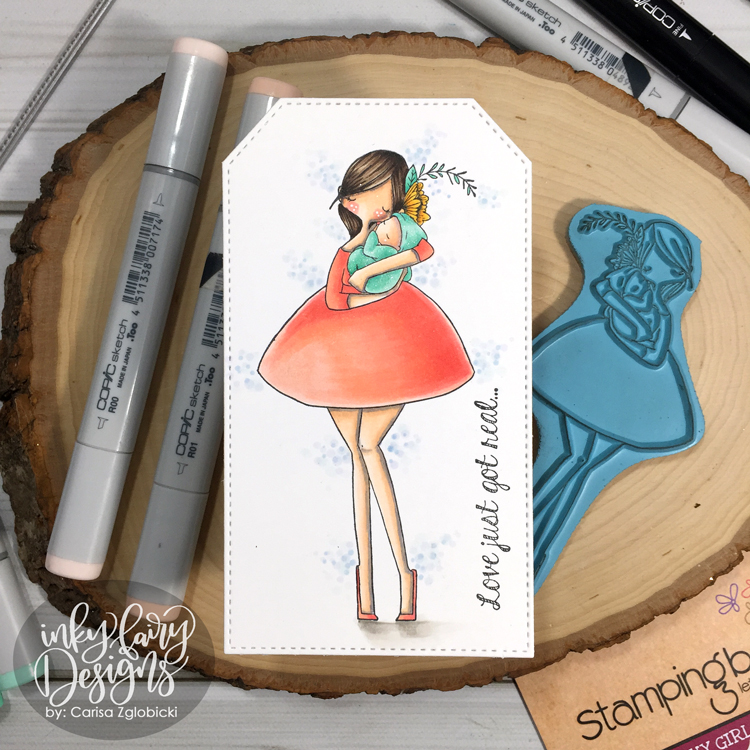Inky Fairy Designs: Copic Coloring: Stamping Bella Curvy ...