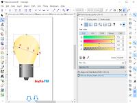 Membuat Gambar Lampu dengan Inkscape