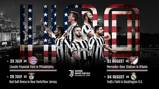 Jadwal Turnamen Pramusim International Champions Cup (ICC) 2018 Juventus