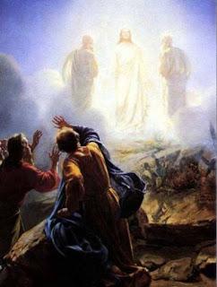 a transfiguração de jesus para os apóstolos