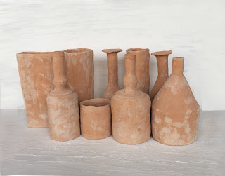 Giorgio Morandi sculpture tribute by Lorenzo Zanovello