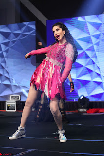 Sunny Leone Dancing on stage At Rogue Movie Audio Music Launch ~  252.JPG