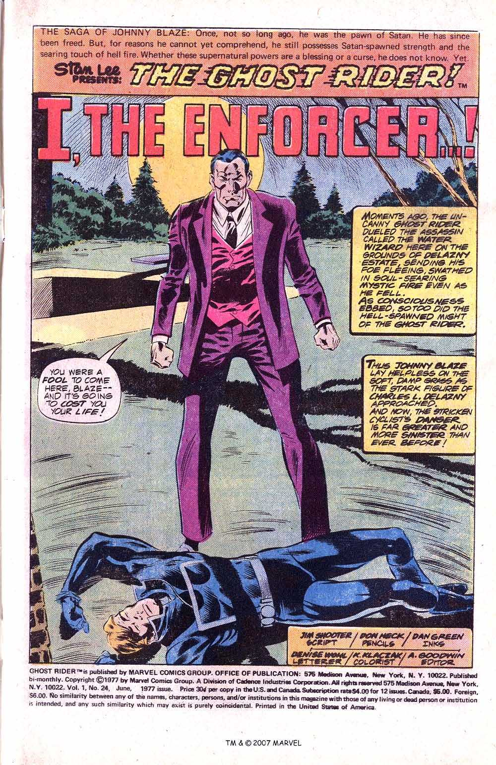 Ghost Rider (1973) Issue #24 #24 - English 3