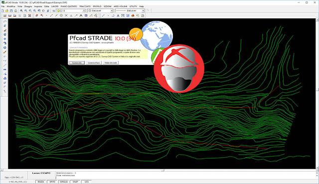 Survey CAD System pfCAD STRADE v10.0