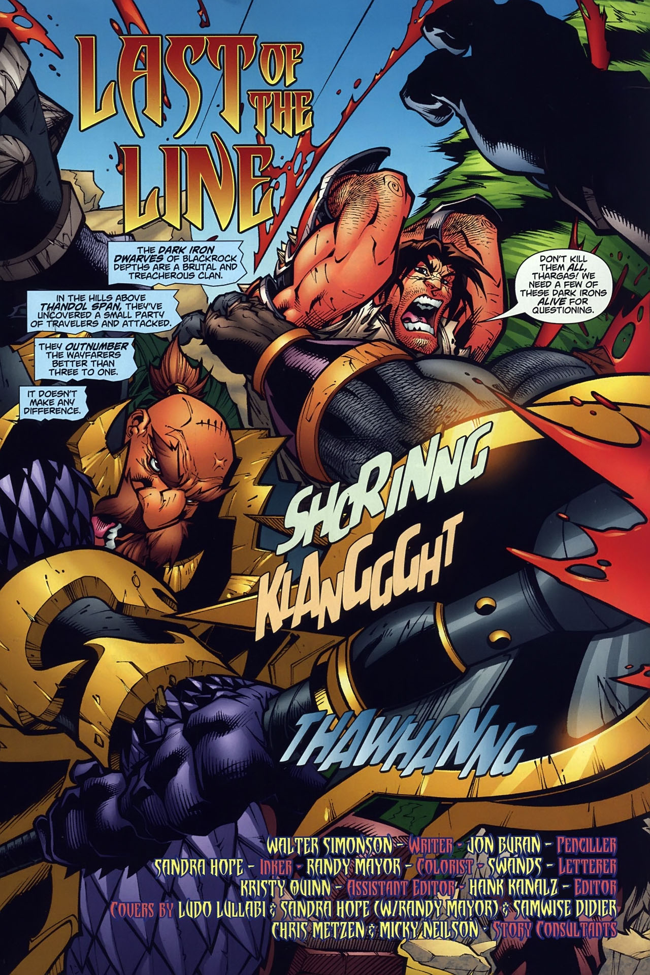Read online World of Warcraft comic -  Issue #10 - 2