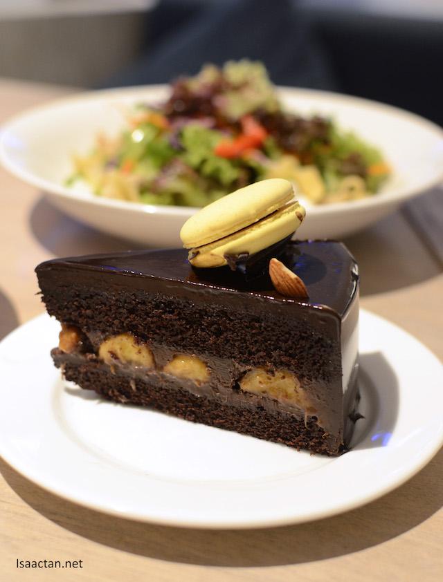 Saintly Salad and Sinful Cake