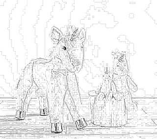 Stuffed Unicorn coloring pages coloring.filminspector.com
