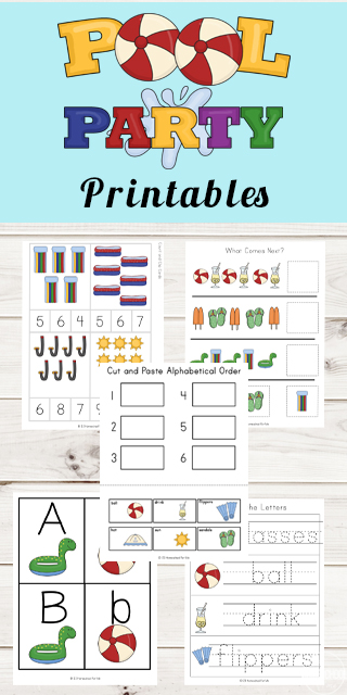 Pool-Preschool-Worksheets