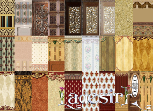 Victorian Walls by Ladesire