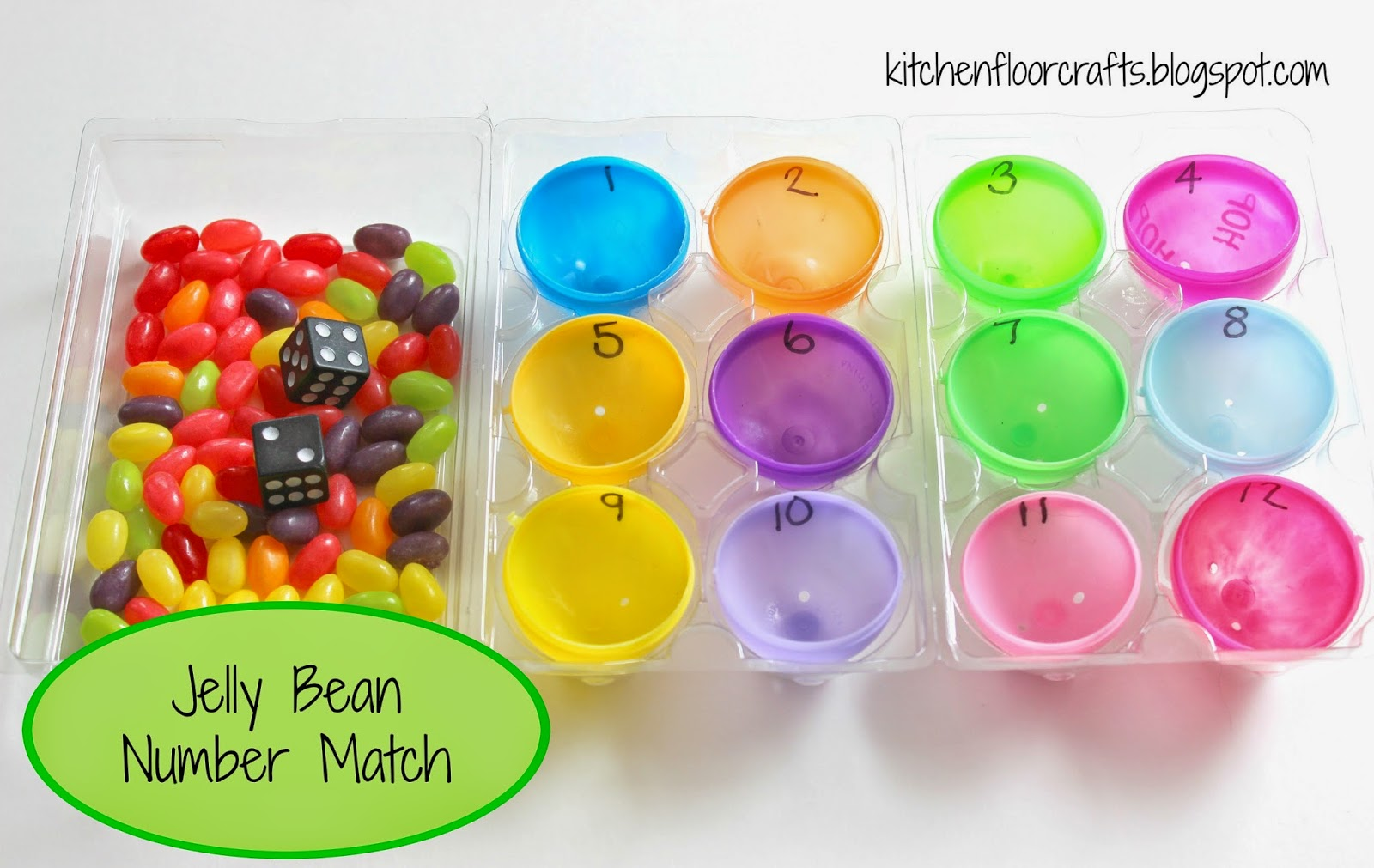 Kitchen Floor Crafts Jelly Bean Math 3 Preschool Play Invitations