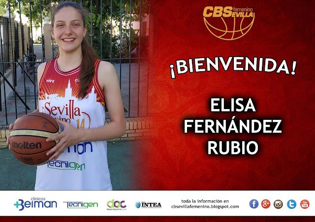 La utrerana Elisa Fernández Rubio se incorpora al CB Sevilla Femenino