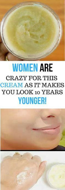 WOMEN ARE GOING CRAZY FOR THIS CREAM AS IT MAKES YOU LOOK 10 YEARS YOUNGER IN JUST 4 DAYS