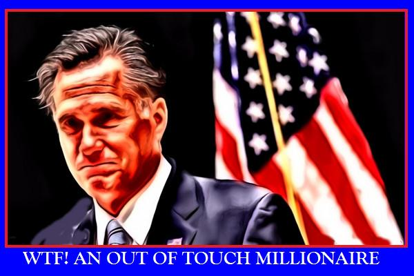 WTF Mitt Romney Still Hates Poor People