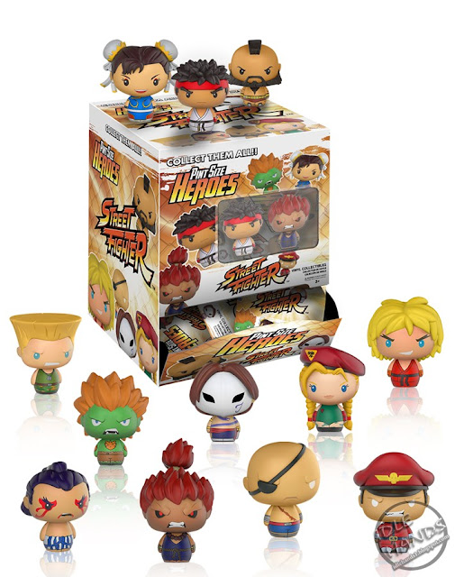 Toy Fair 2017 Funko Street Fighter Pint Sized Heroes Blind Bag Figures