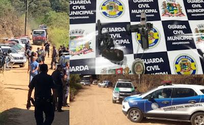 Ônibus é sequestrado em Araçariguama e Guarda Civil Municipal prende criminosos