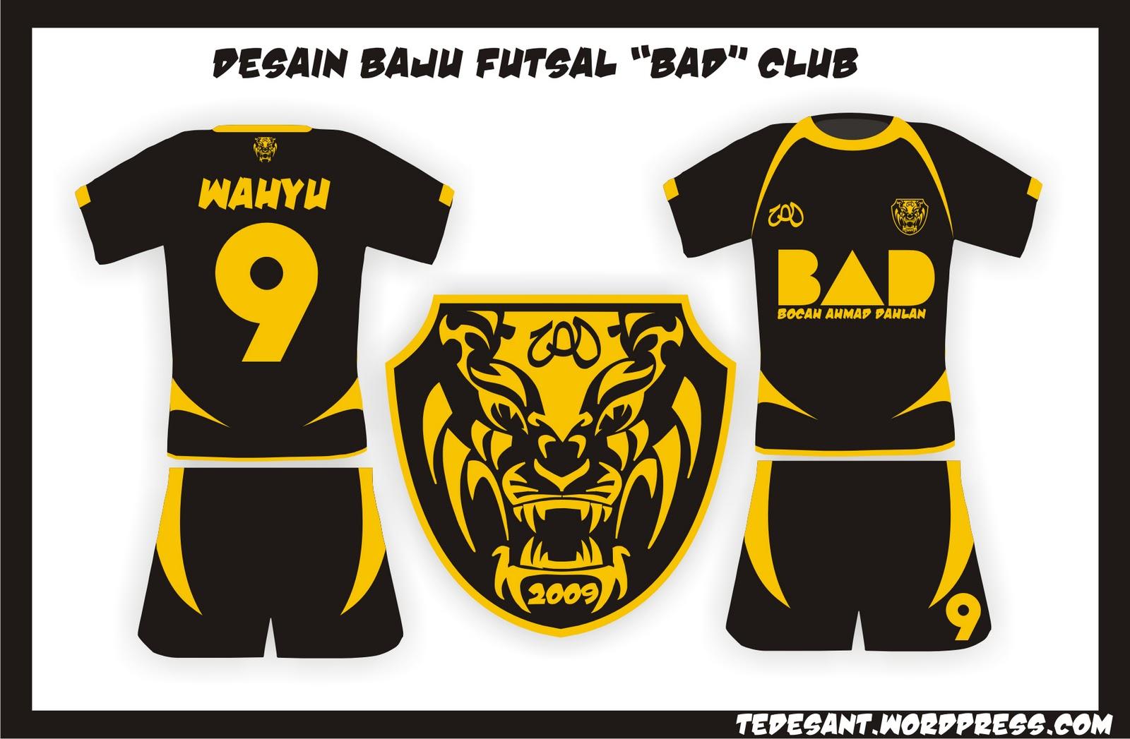 Contoh Desain Jersey Futsal - Contoh Sur