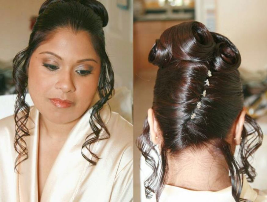 Brilliant Indian Bridal Hairstyles 2011 Bridal Makeup Hairstyles For Women Draintrainus