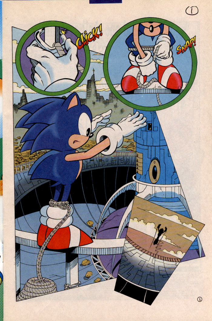 Read online Sonic The Hedgehog comic -  Issue #41 - 2